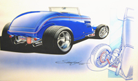 60th Anniversary Build-A-Rod concept sketch