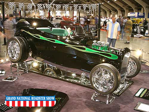 2006 AMBR Runner Up, Outstanding Paint, Outstanding Engine, Outstanding Detail  - 1932 Ford - Steve Tracy