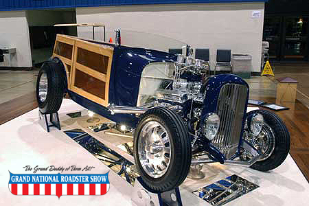 2008 AMBR Outstanding Class Award, 2008 AMBR Outstanding Engine - 1929 Ford Roadster - Robbie Azevedo