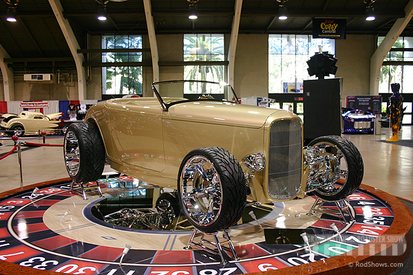 2008 America's Most Beautiful Roadster, 2008 AMBR Outstanding Display - 1932 Ford Roadster - Rudy Necoechea
