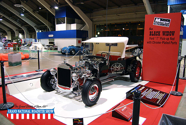 2009 America's Most Beautiful Roadster, AMBR Outstanding Display Award   - 1926 Ford Roadster - Mchael Feinstein