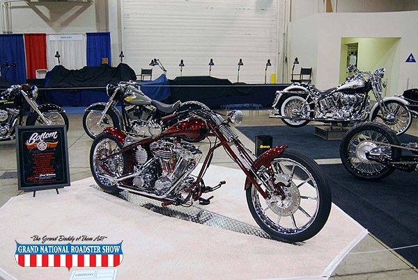2009 America's Most Beautiful Motorcycle Outstanding Class Award - 1999 Harley Davidson Custom - Kutty Noteboom
