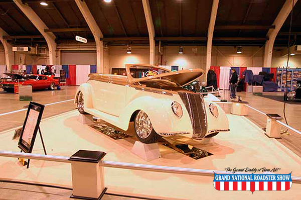 2010 Steve's Auto Restoration Mark of Excellence - 1937 Ford Cabriolet - Brent Schieder