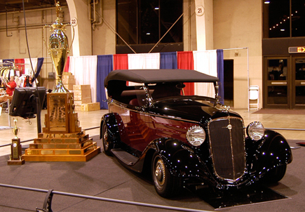 2013 America's Most Beautiful Roadster Winner John Mumford's 1927 Ford
