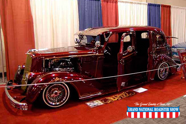 2014 Von Dutch Pin Striping Award - 36 Chevy - Mario De Alba