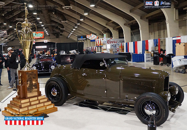 2015 America's Most Beautiful Roadster Winner Larry Olson's 1933 Ford Roadster