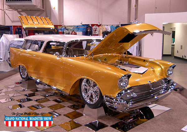 2017 Al Sloanaker Memorial Award and 2017 Stitch of Excellence Award - 1957 Chevy Nomad - Ron Maier