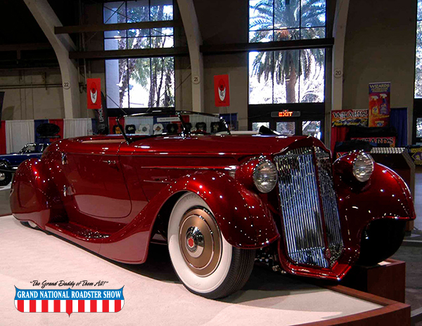 2017 America's Most Beautiful Roadster Winner Bruce Wanta's 1936 Packard