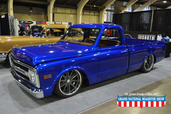 2018 Stitch of Excellence Award & 2018 Best Truck - 1970 C10 Pick Up - Steve Provost
