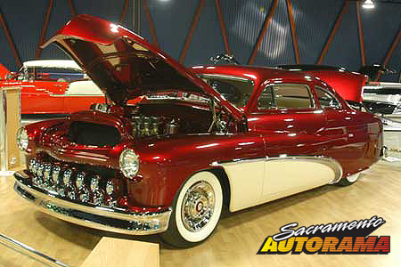 2007 H.A. Bagdasarian World's Most Beautiful Custom, WMBC Outstanding Display - 1951 Mercury - Tom Kowalski