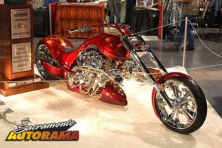2008 Sweepstakes Motorcycle - 2008 Brouhard Soft Tail - Carl Brouhard