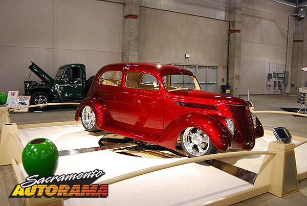 2009 Outstanding Overall Rod - 1937 Ford Sedan - John Costamagna