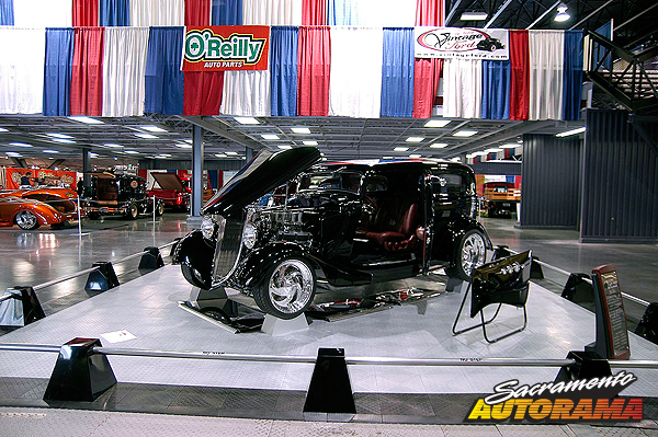 2011 Steve's Auto Restorations Award - 1934 Ford 2 Door Sedan - Elaine Pinkerton