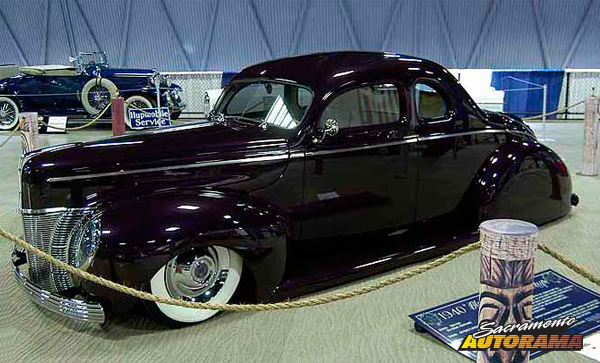 2014 H.A. Bagdasarian Award - World's Most Beautiful Custom  - 1940 Ford Coupe - Charles Spencer